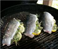 Grilled Trout with Shallots Recipe